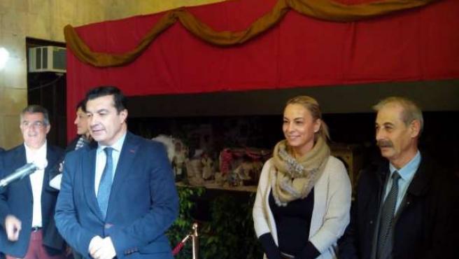 Sonia Castedo y Andrés Llorens en una imagen de archivo