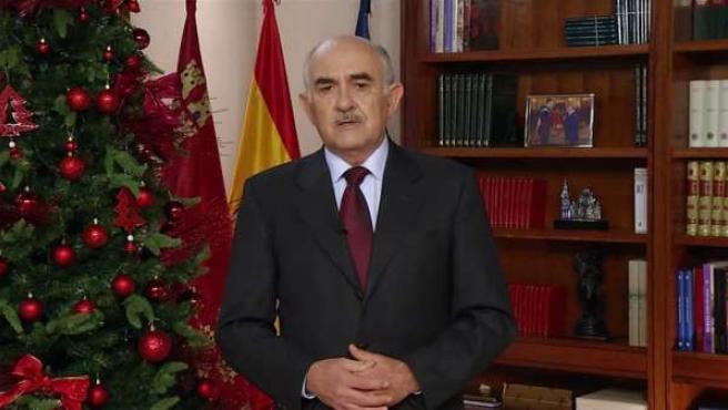 Mensaje del presidente murciano, Alberto Garre, en Navidad