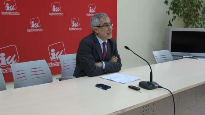 Gaspar Llamazares,diputado de IU