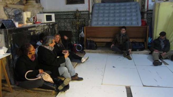 Campamento Dinidad en la Catedral de Badajoz