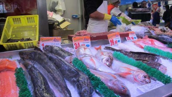 Pescados del Mercado de La Ribera.