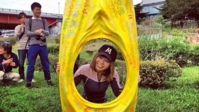 Megumi Igarashi, conocida como la 'artista de la vagina', detenida por distribuir material obsceno.