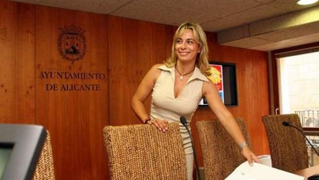 La actual alcaldesa de Alicante, Sonia Castedo.
