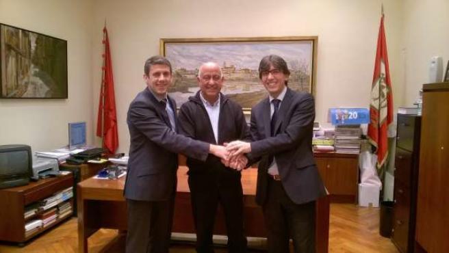 Acuerdo entre Obra Social La Caixa y Ayuntamiento de Corella.