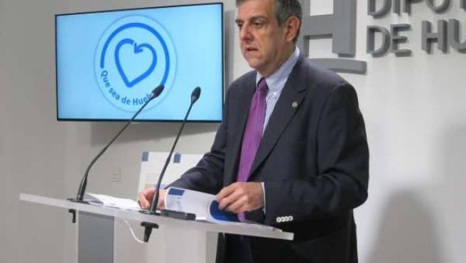 El presidente del CESpH, Juan José García del Hoyo.