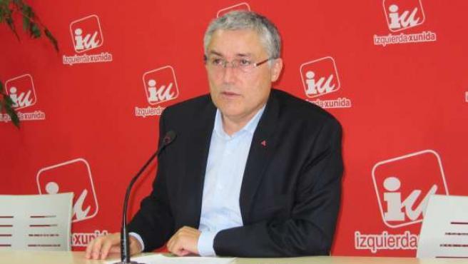 Manuel González Orviz, coordinador de IU Asturias