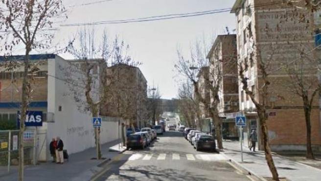 Imagen de la calle Úbeda, Córdoba