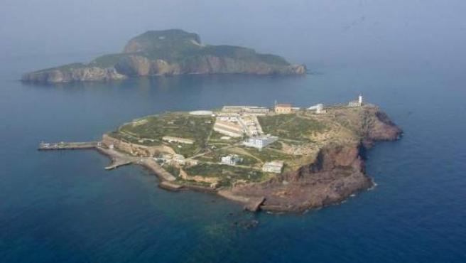 El archipiélago español de las islas Chafarinas, en una imagen de archivo.