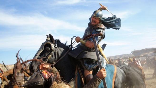 Christian Bale en el papel de Moisés en 'Exodus', de Ridley Scott.