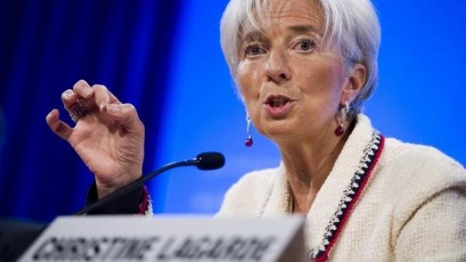Christine Lagarde, en una foto de archivo.
