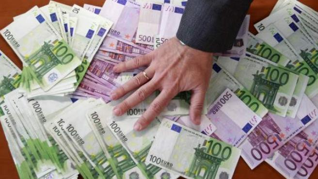 Billetes de euro, en una imagen de archivo.