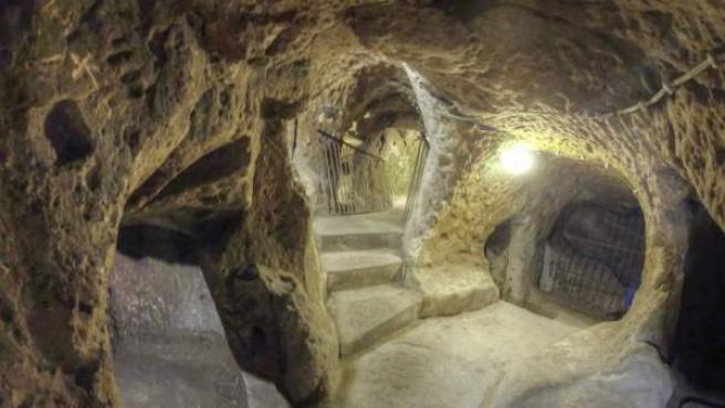 Derinkuyu, una de las ciudades subterráneas más famosas de la Capadocia.