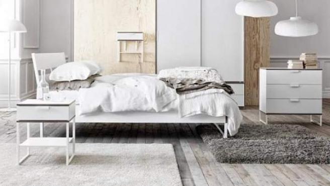 El uso del blanco combina con todos los colores y aun con todos los estilos.