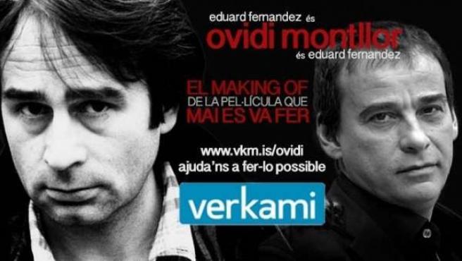 Cartel del documental sobre Ovidi Montllor