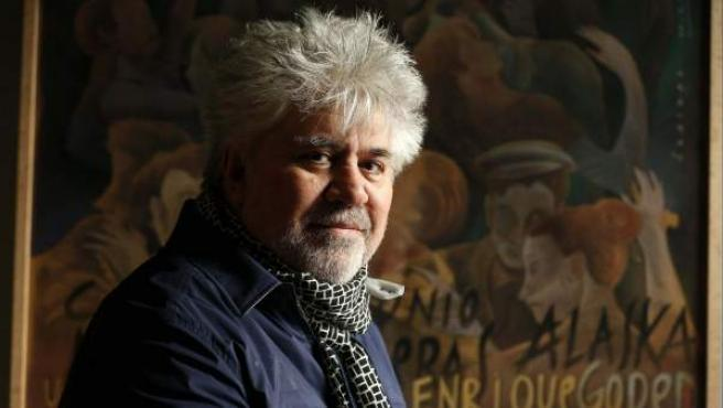 El cineasta manchego Pedro Almodóvar.