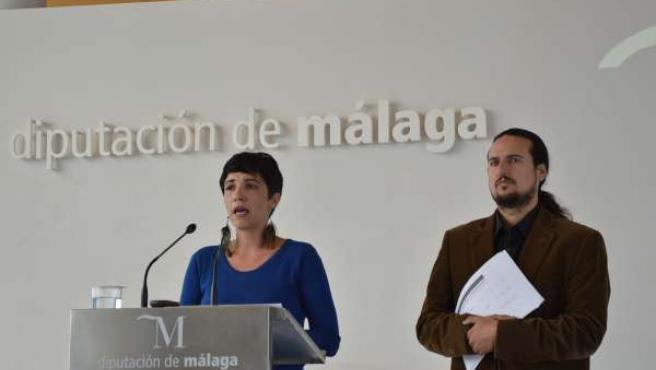 Antonia Morillas y Pedro Fernández