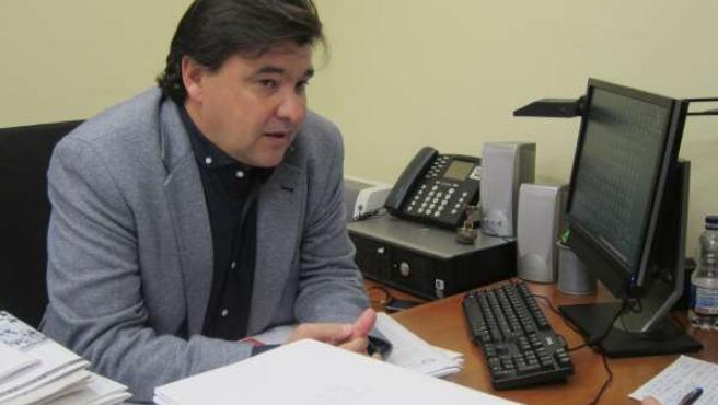 El candidato del PSOE a la Alcaldía de Huelva, Gabriel Cruz.