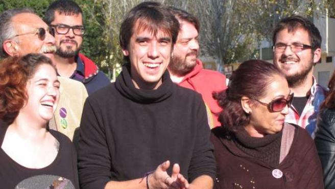 José Antonio Vargas, secretario general Podemos en Málaga