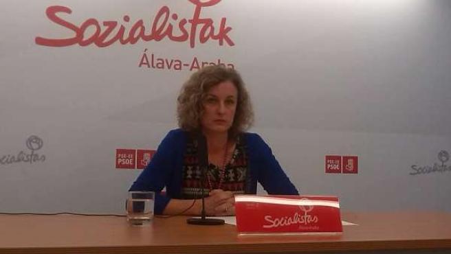 Cristina González, PSE de Álava
