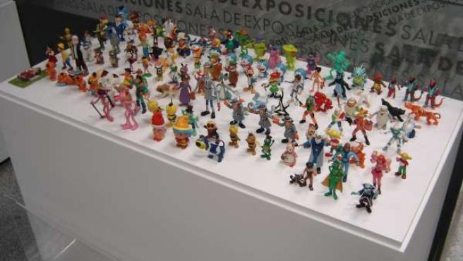 Colección de figuras de dibujos animados en Badajoz