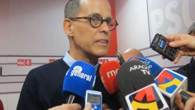 El secretario de Movimientos Sociales del PSOE, Pedro Zerolo.