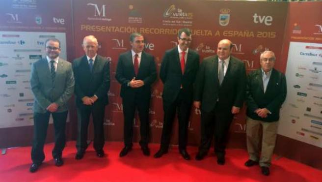 Diputación resalta la proyección internacional con La Vuelta a España 2015