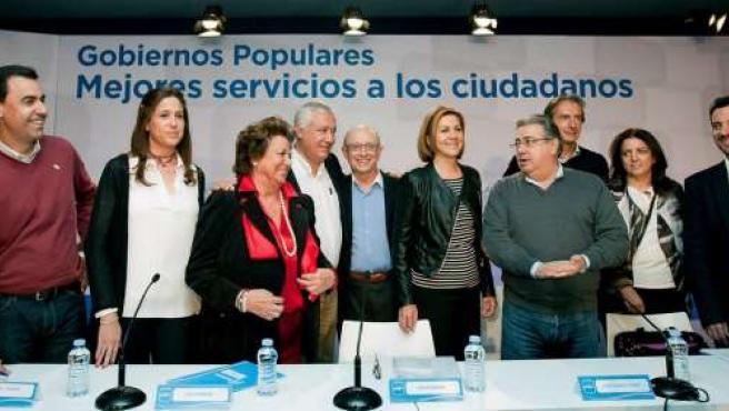 Martínez Maíllo en el acto 'popular'