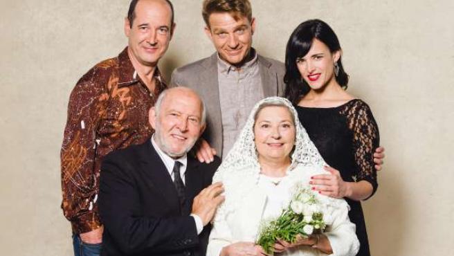 Protagonistas de 'El hijo de la novia'