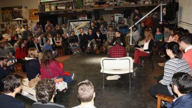 Encuentro de Ximo Puig con jóvenes
