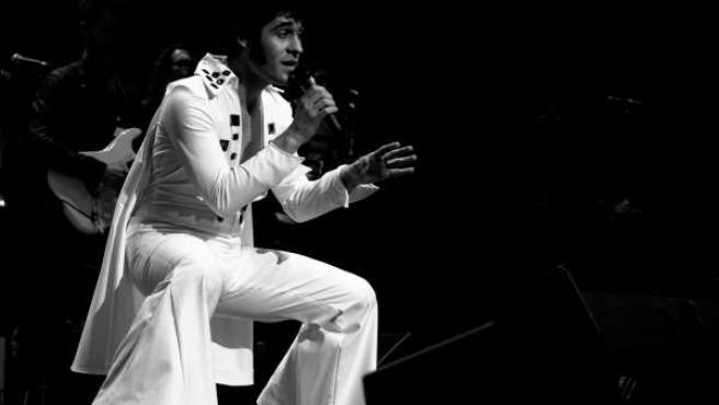 Homenaje a Elvis 'Una noche en las Vegas'