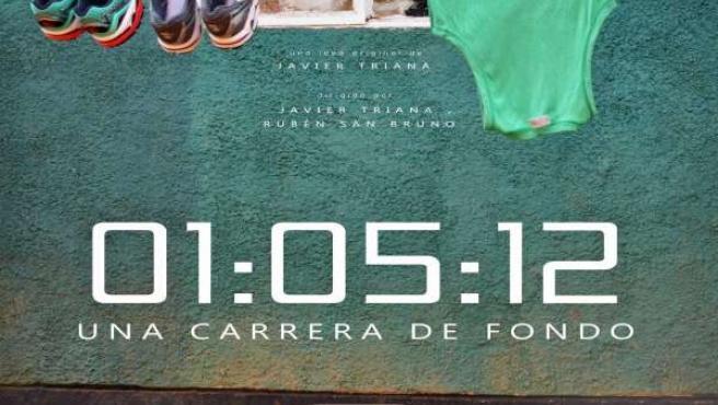Cartel '01:05:12' Una carrera de Fondo