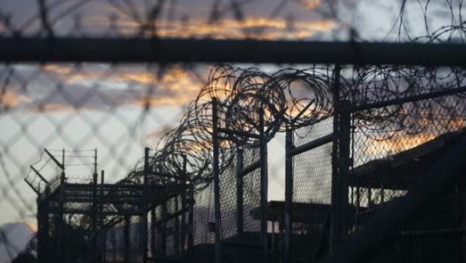 Una imagen de la prisión de Guantánamo.