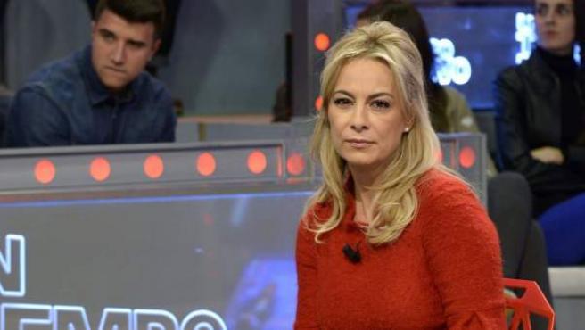 Fotografía facilitada por Telecinco, de la exalcaldesa popular de Alicante, Sonia Castedo, durante una entrevista en el programa 'Un Tiempo Nuevo' de 'Telecinco'.