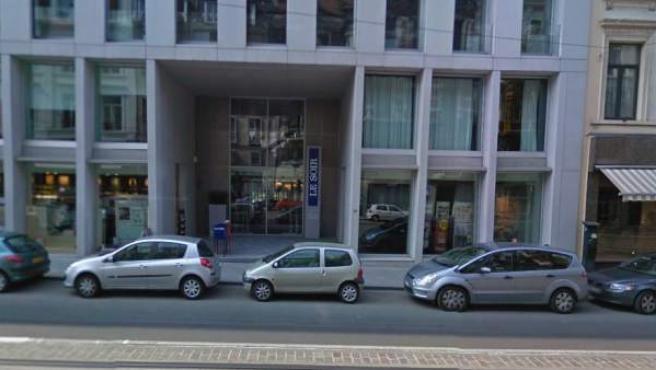 Sede del diario 'Le Soir' en Bruselas.