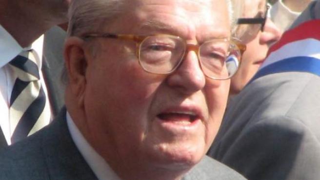 Una imagen del líder ultraderechista francés Jean Marie Le Pen.