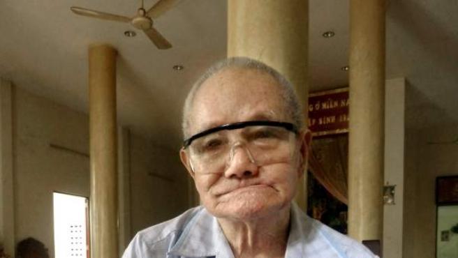 Tran Van Tiep, el cazatesoros centenario de Vietnam.