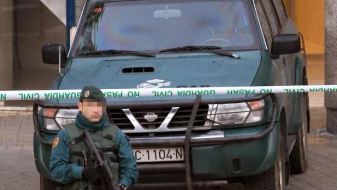 Operación de la Guardia Civil contra miembros de ETA en el País Vasco, en una imagen de archivo.