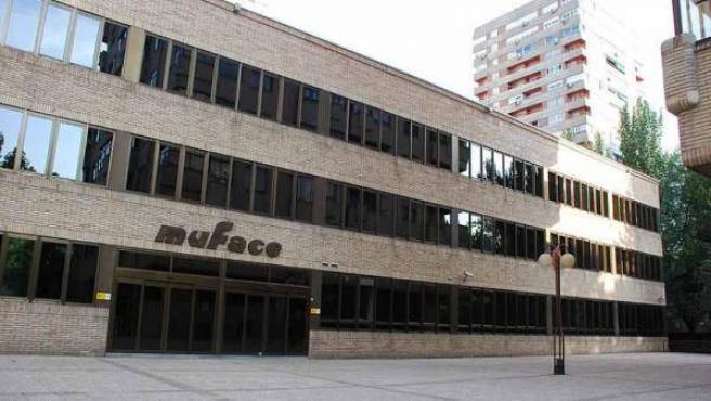 Sede de Muface en Madrid.
