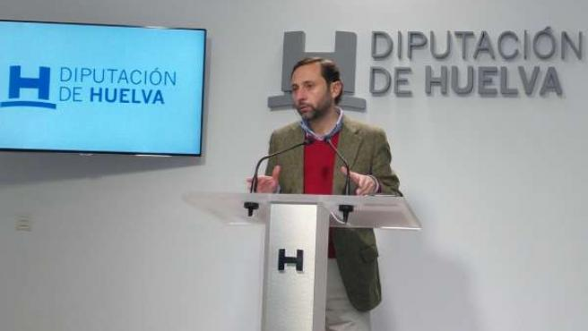 El diputado de Infraestructuras de Huelva, Alejandro Márquez.