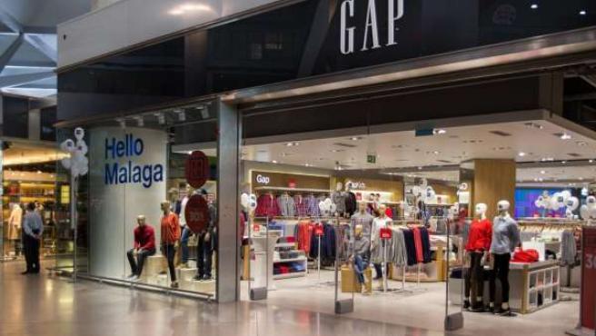 Tienda Gap en aeropuerto de Málaga