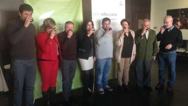 Cata concurso para la elección de los aceites Jaén Selección 2015