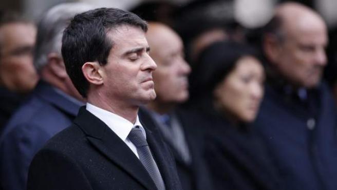 El primer ministro galo, Manuel Valls