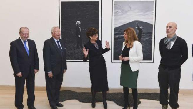 Imagen de la inauguración de la exposición