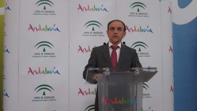 Rafael Rodríguez, consejero Turismo y Comercio, Andalucía, Junta, IU