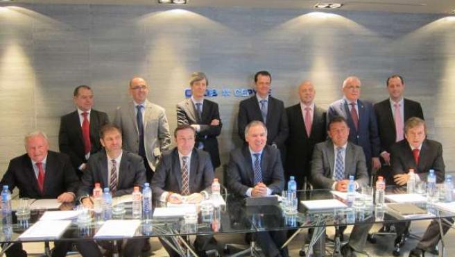 Nueva Junta Directiva CEOE-Cepyme Cantabria, presidida por Vidal de la Peña
