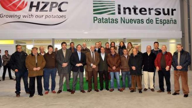 Inauguración de las nuevas instalaciones de Intersur