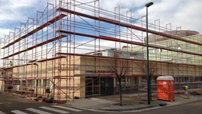 """N.I. Ejea, Inicio De Las Obras De Ampliación De La Residencia Municipal """"Elvira"""