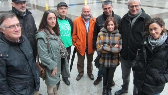 Miembros de la lista independiente 'Sumemos' al consejo de Podemos Cantabria