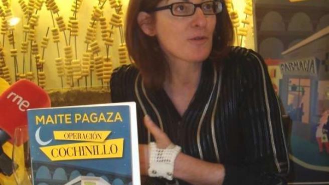 Maite Pagaza, en Segovia