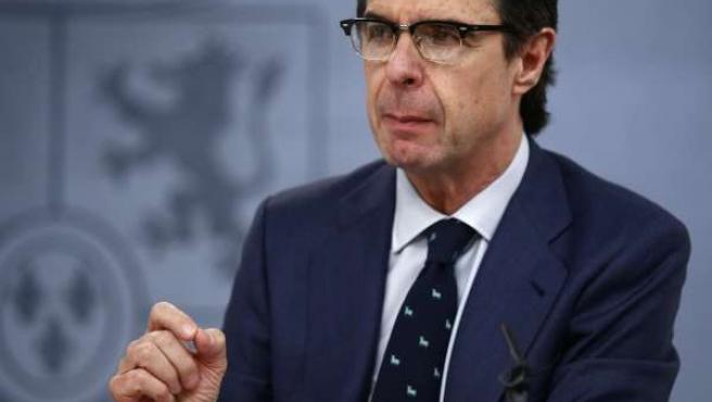 José Manuel Soria tras el Consejo de Ministros